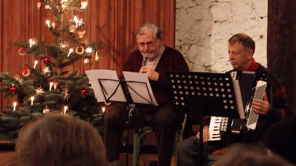 Dieter Wirz (Akkordeon) und Vojislav Miller (Oboe)
