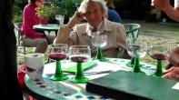 Heinke von Löw am Tag der Vertragsunterzeichnung im Juni 2013