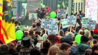Demo der Lampedusa-Flüchtlinge Anfang 2014
