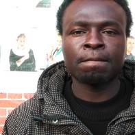 Interview mit einem der Flüchtlinge, die in der Hamburger St. Pauli Kirche unterkamen