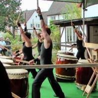 Taiko-Trommler im Sept. 2012