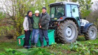 Mitso, Nuri and me im Oktober 2012. https://www.facebook.com/notes/max-bryan/shumei-natural-farm/498883896796197 (Shumei Natural Farm)