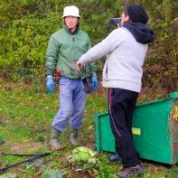 Tagebuch-Aufnahmen auf dem Feld der Shumei´s im Oktober 2012
