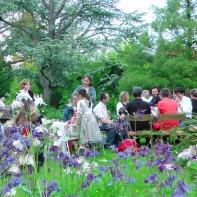 Eine Geburtstagsfeier im Frühjahr 2012