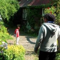 Gartenhof von Löw im Juni 2014
