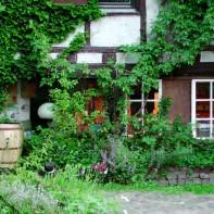 Torhaus im Sommer 2014 ... 781 Tage musste ich suchen, bevor ich mein Glück fand - hier auf dem Gartenhof --> https://www.facebook.com/notes/max-bryan/habe-wohnung/392787887405799