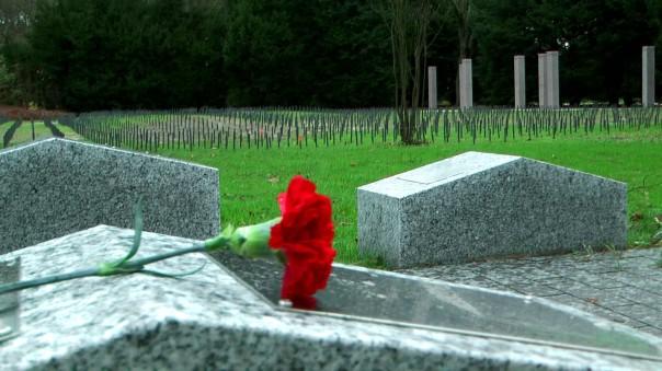 Einsam verstorbene werden künftig nicht mehr so leicht vergessen sein. Neue Gedenksteine auf dem Öjendorder Friedhof erinnern an Verstorbene ohne Angehörige. (Foto: Max Bryan)