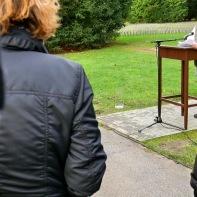 """""""Ich Danke Herrn Rehkopf - für seine Tapferkeit im Umgang mit meinen nicht immer unkritischen Fragen ..."""" (Rede vom 19. November ... Abschrift demnächst ...)"""