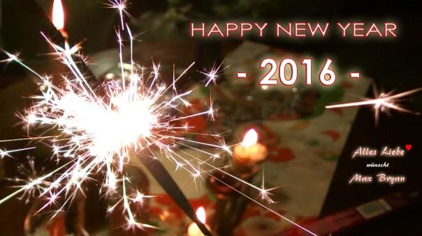 Happy New Year - 2016 (Foto: Max Bryan)